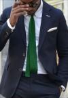 Green-Knit-Tie