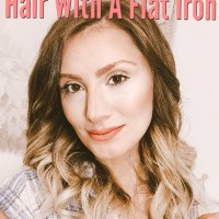 How To Curl Your Hair With A Flat Iron | Straightener Curls