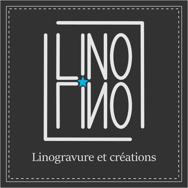 carte de visite recto | LinoLino | Linogravure et créations artisanales
