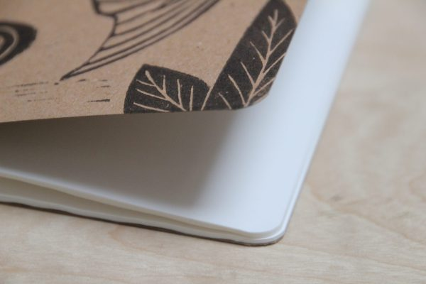 LinoLino - linogravure et créations | Petits carnets kraft