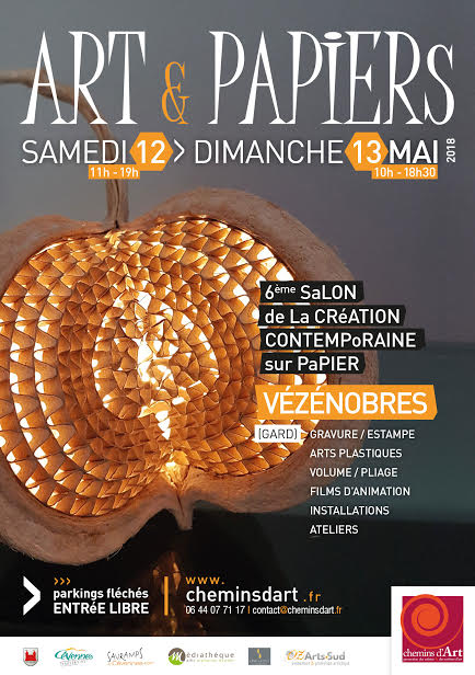 LinoLino | Linogravure et créations à partir d'impressions artisanales | Chambéry, France | Salon Art et papiers 2018 Vezenobres (30)
