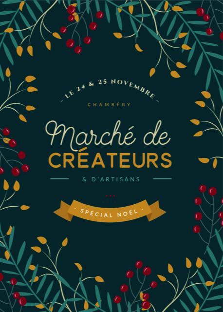 LinoLino | Linogravure et créations à partir d'impressions artisanales | Chambéry, France | Marché de créateurs de Noël à Chambéry décembre 2018