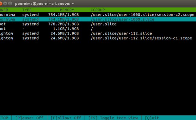 Ctop Command Line Tool To Monitor Linux Containers