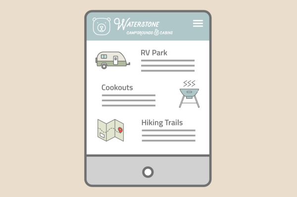 Camp & Trail Icon Set 7