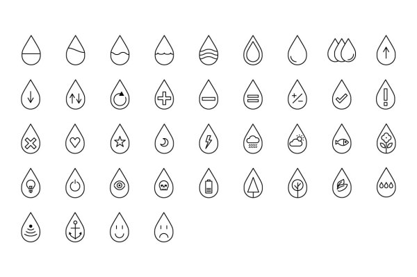 Droplet Icons 4