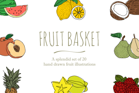 Fruit Illustrations 1