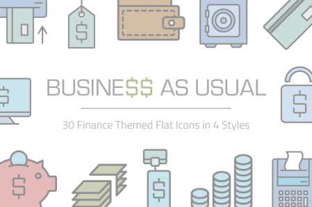 Business As Usual Icon Set