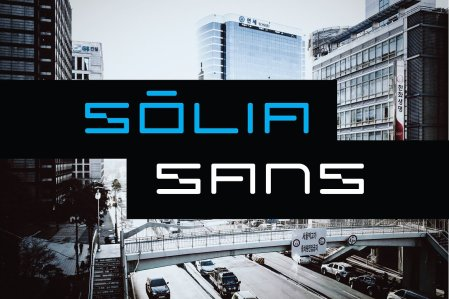 Solia Sans Display Font