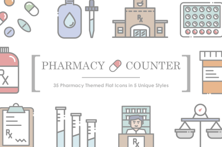 Pharmacy Icons