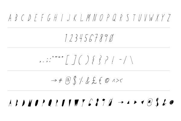Time Will Tell Display Font 4