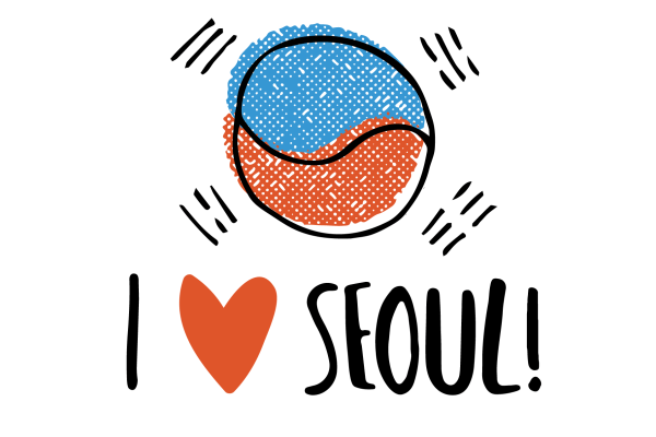 South Korea Illustrations 5