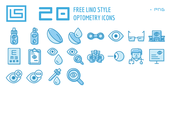 Optometry Icons Freebie