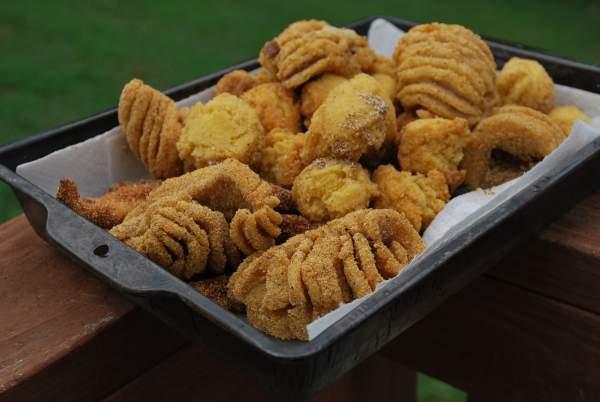 Fish fry for Buffalo fish ribs