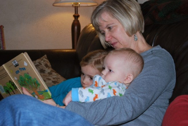 Reading with Nana