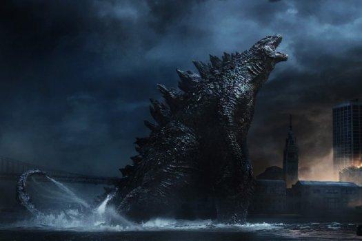 Godzilla...SMASH...
