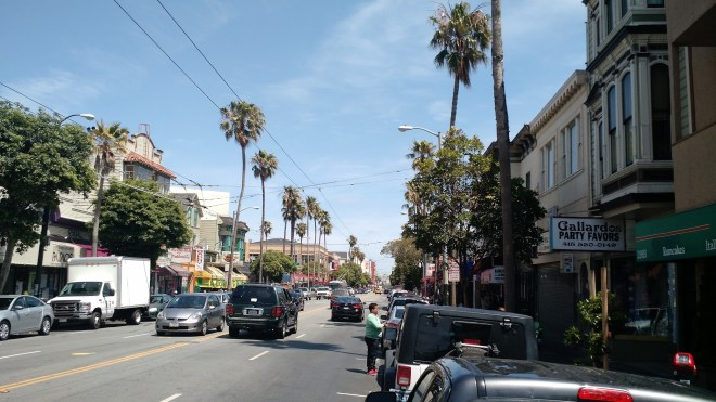 The Mission district.