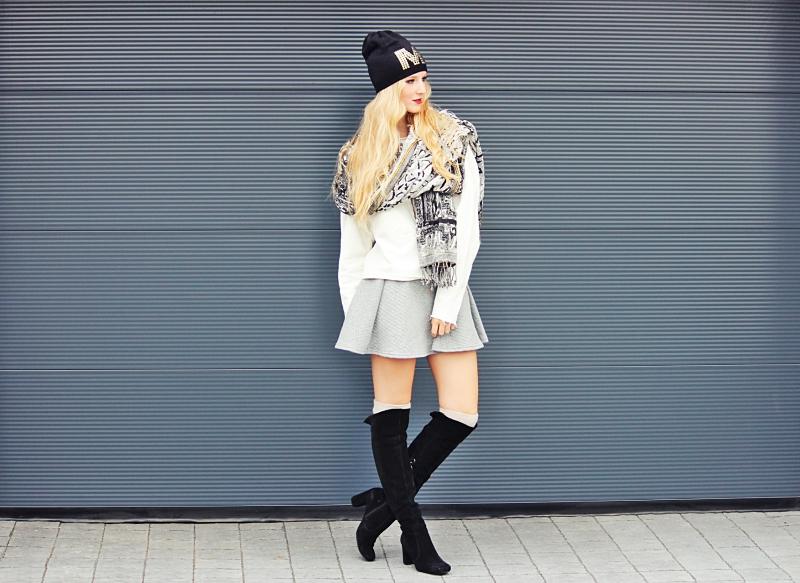 Outfit: 5 Tipps, die du unbedingt beachten solltest, wenn du Overknee Stiefel trägst!