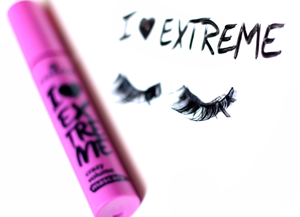 Essence I love extreme Mascara | Produkttest