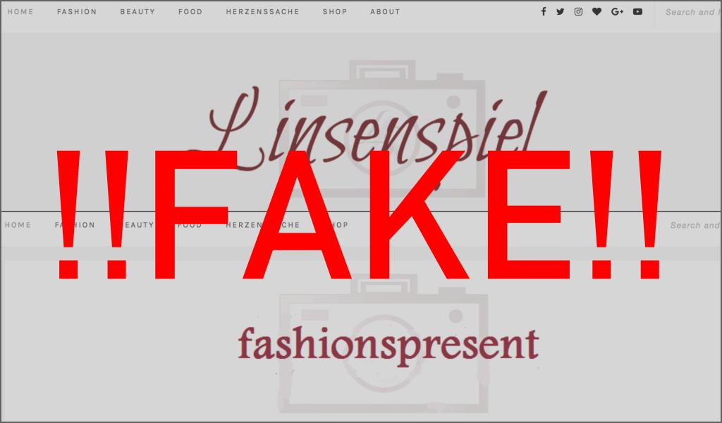 Blog wurde geklont, Klon, Blogklon, Fake, Linsenspiel Original, Sophie, Blogprobleme