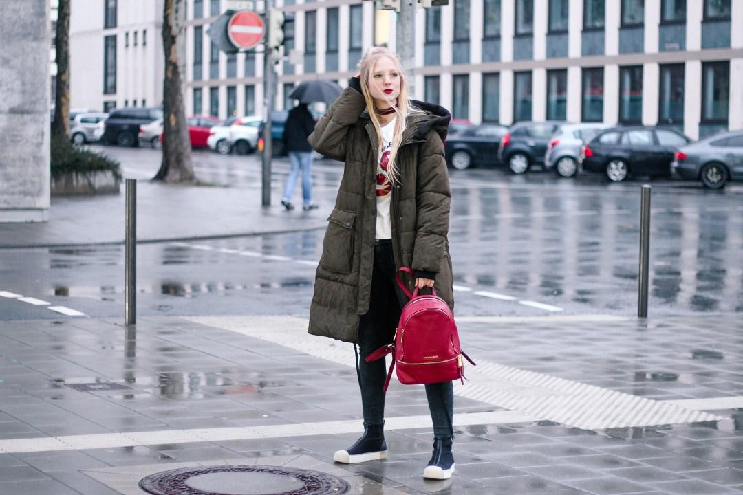 Parka, XXL Parka, Düsseldorf, Modestadt, Umzug, Abenteuer, Personal, Persönliches, Outfit, Blogger, Praxissemester, Michael Kors, Zara, H&M, Darmstadt