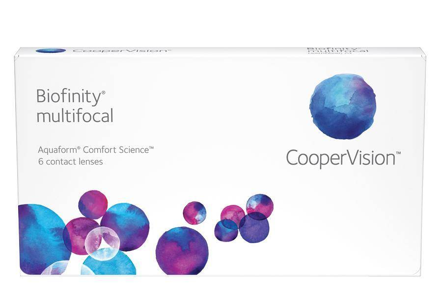 Coopervision Biofinity Multifocal Linsjakt
