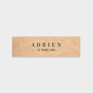 Étiquette Eden