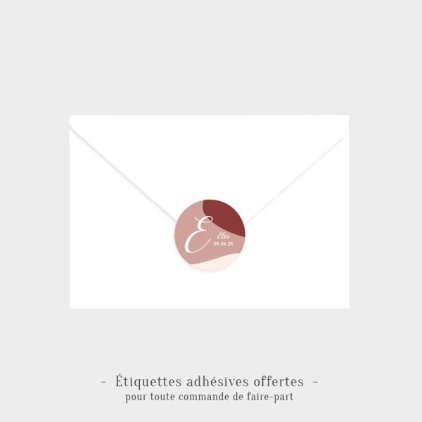 Etiquettes adhésives Nuage offertes