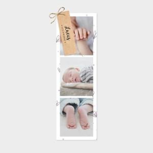 Faire-part de naissance Douce nuit lavande