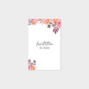 Carton repas Bouquet