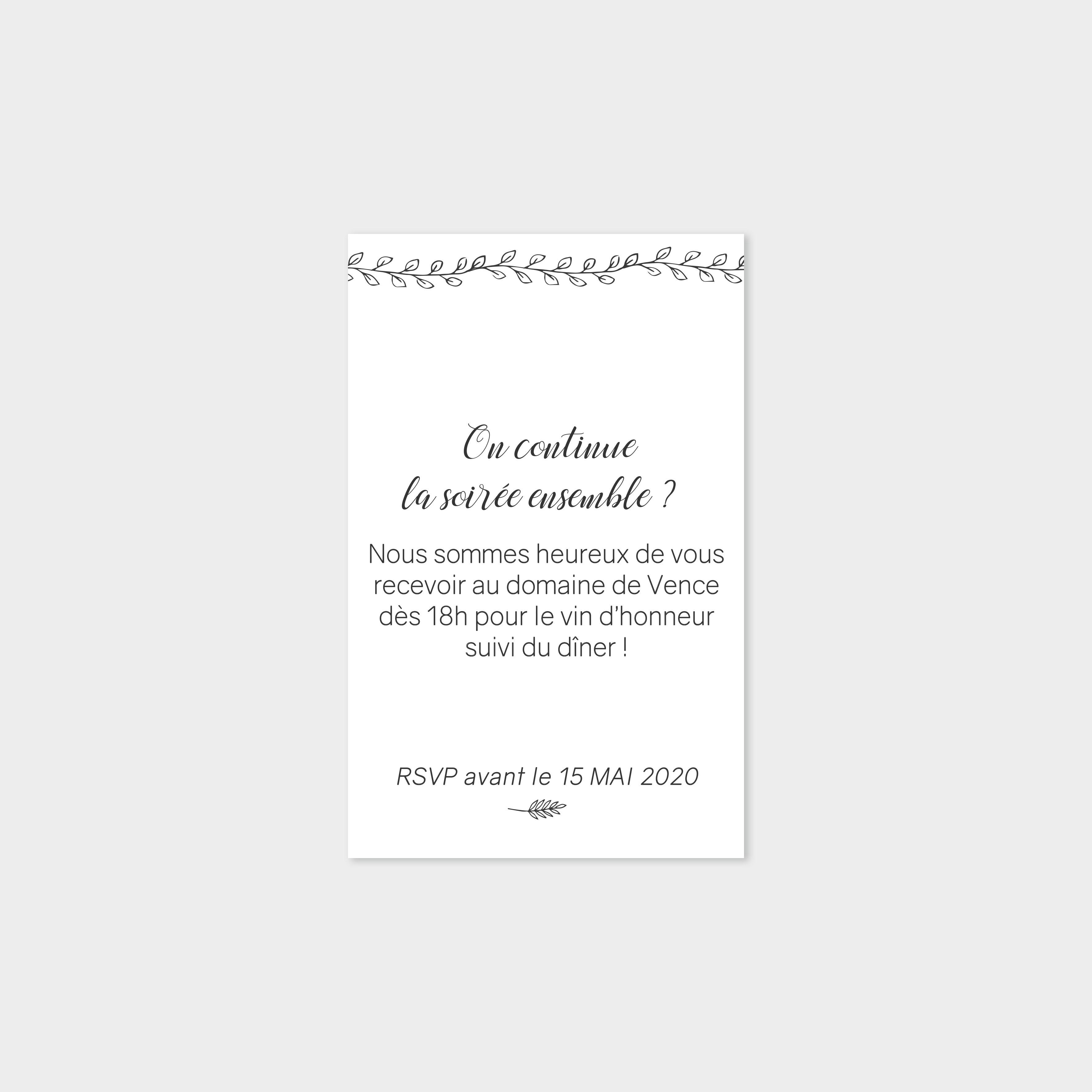 Carton repas Champêtre