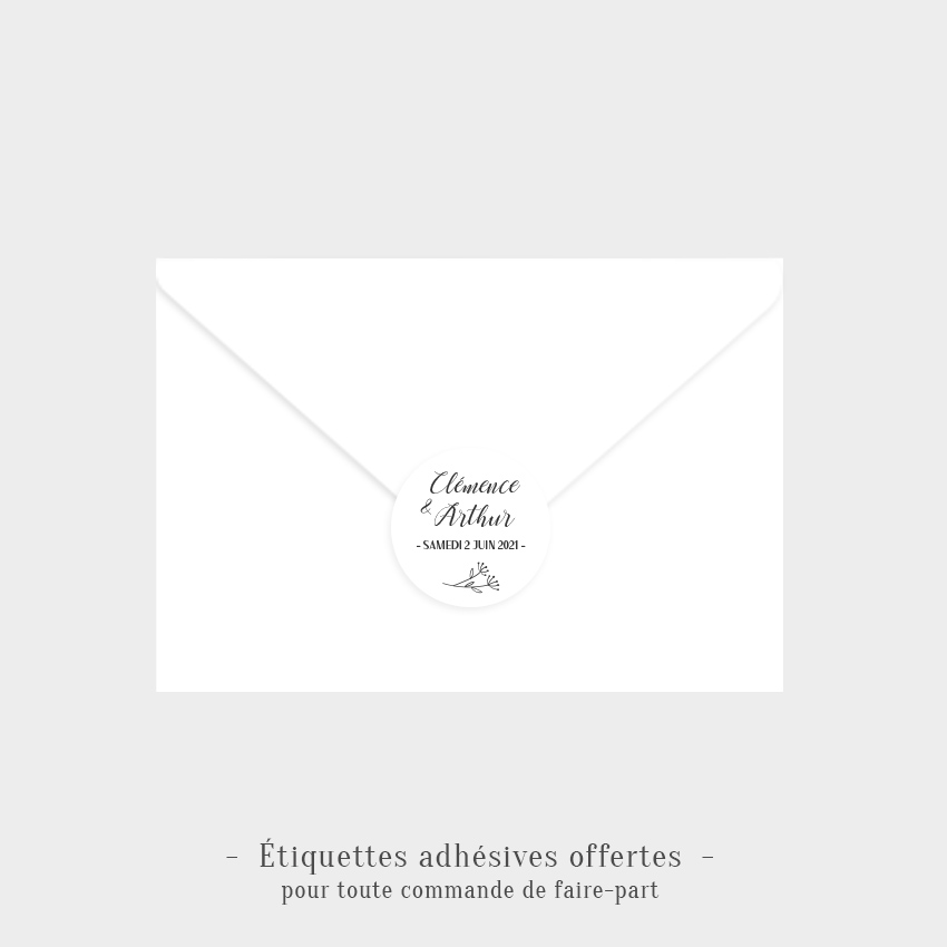 Etiquettes adhésives Promesse offertes