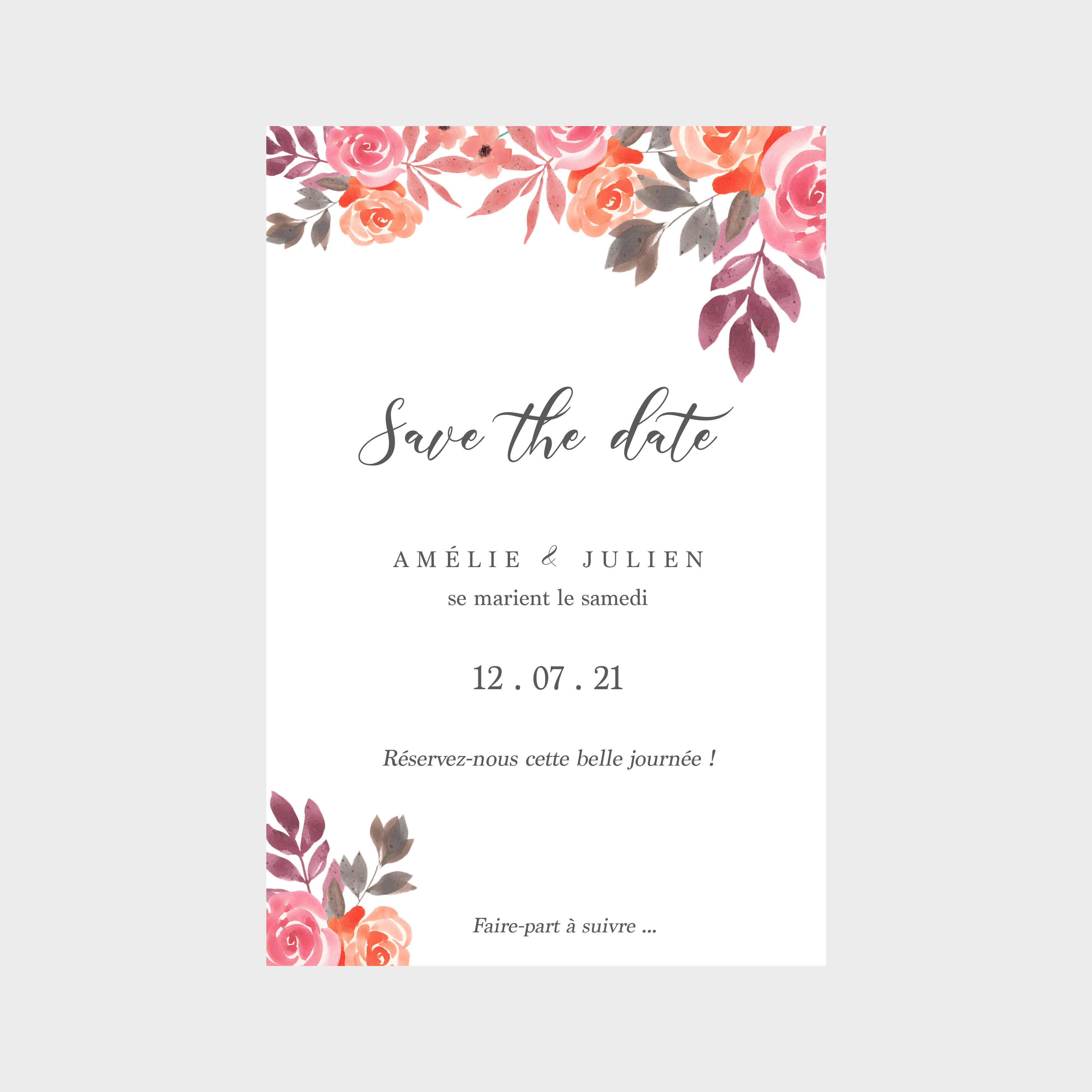 Save the date Bouquet