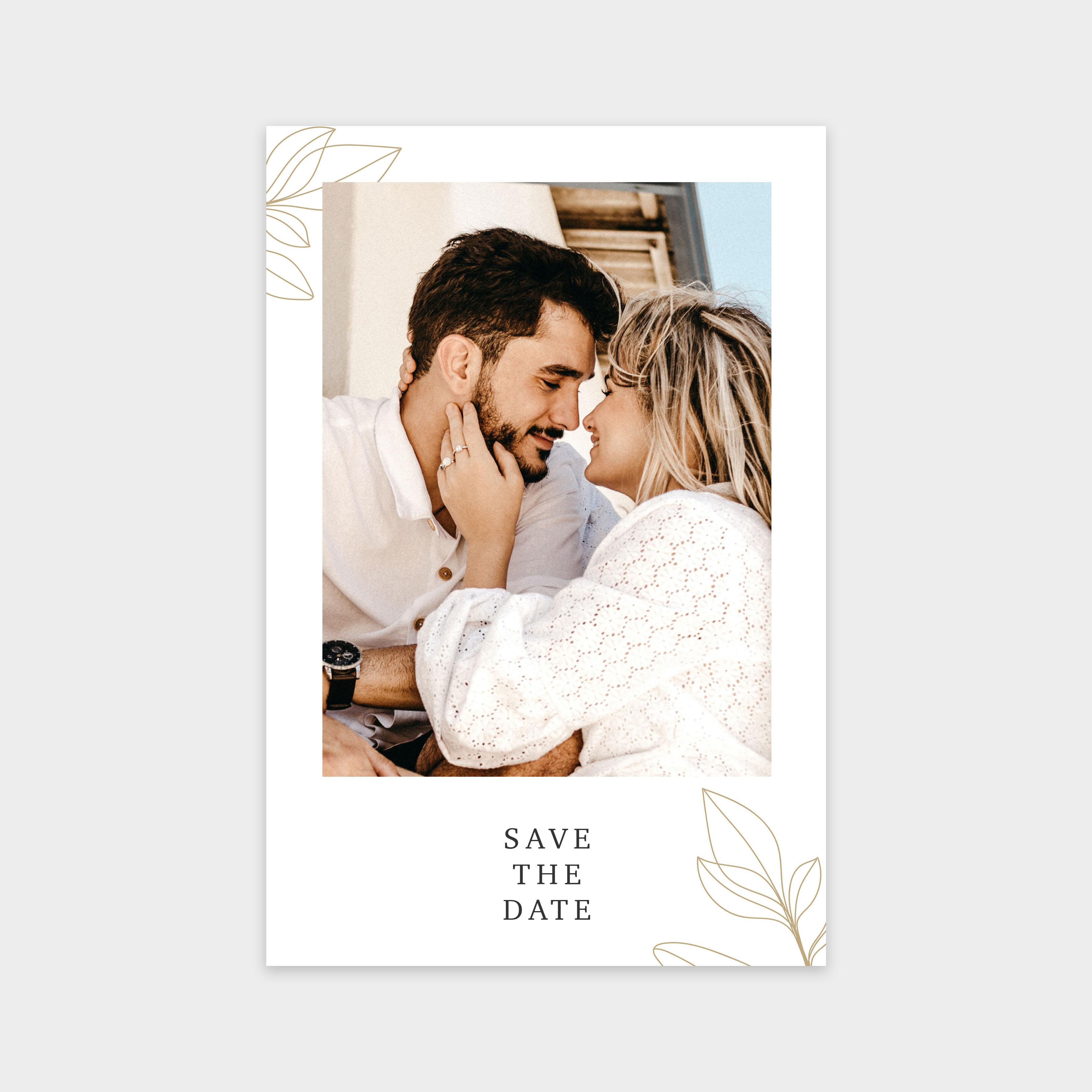 Save the date Voyage de noces