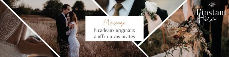 8 cadeaux originaux à offrir à vos invités de mariage