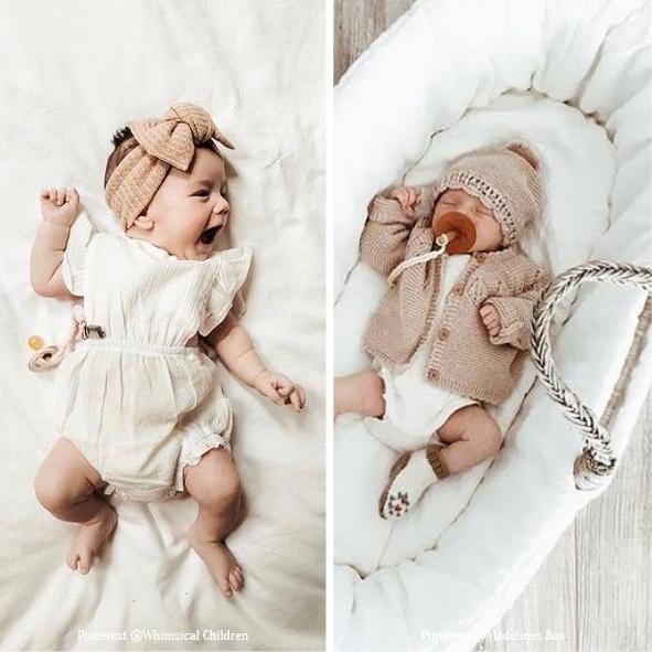 Looks de bébés en Lin