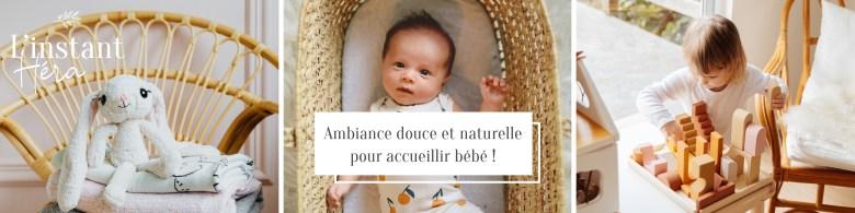 Ambiance douce et naturelle pour accueillir bébé