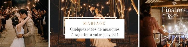 Quelques idées de musiques à rajouter à votre playlist de mariage