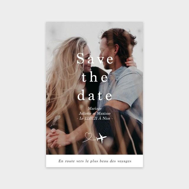 Save the date Au bout du monde