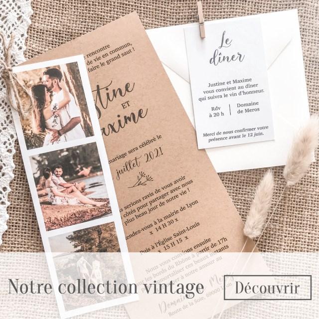 Notre collection vintage