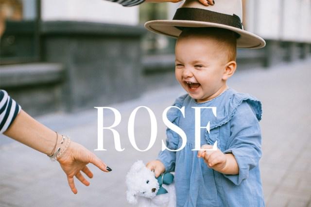prénoms rose