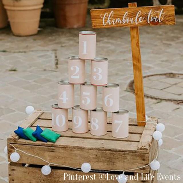 Activités de mariage-Kermesse