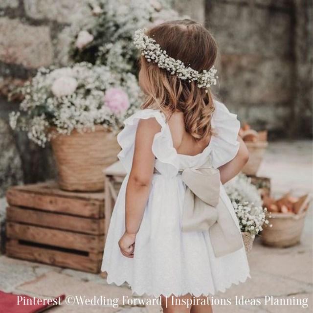 Mariage-Petite fille d'honneur