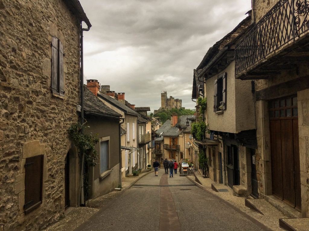 Najac Aveyron Chateau