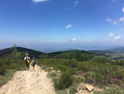 Chemin de Compostelle Espagne Galice montagnes pèlerins