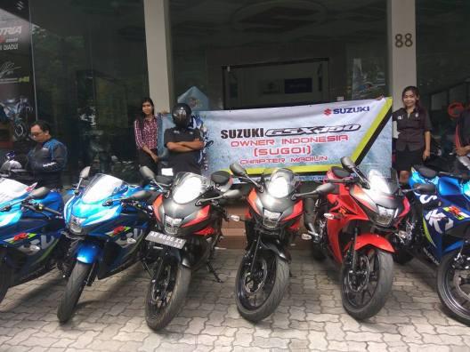 Inilah SUGOI Club GSX R150 pertama di indonesia