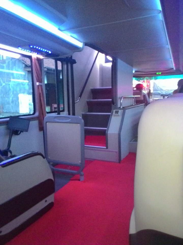 Naik Bus Putera Mulya SDD dari Cikarang ternyata belum