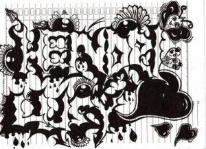Baca Juga 60 Gambar Grafiti Nama Atau Huruf Keren