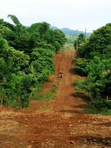 Piedra labrada camino