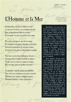 Baudelaire L'homme Et La Mer : baudelaire, l'homme, Poèmes, Baudelaire, Bandes, Dessinées, L'Homme