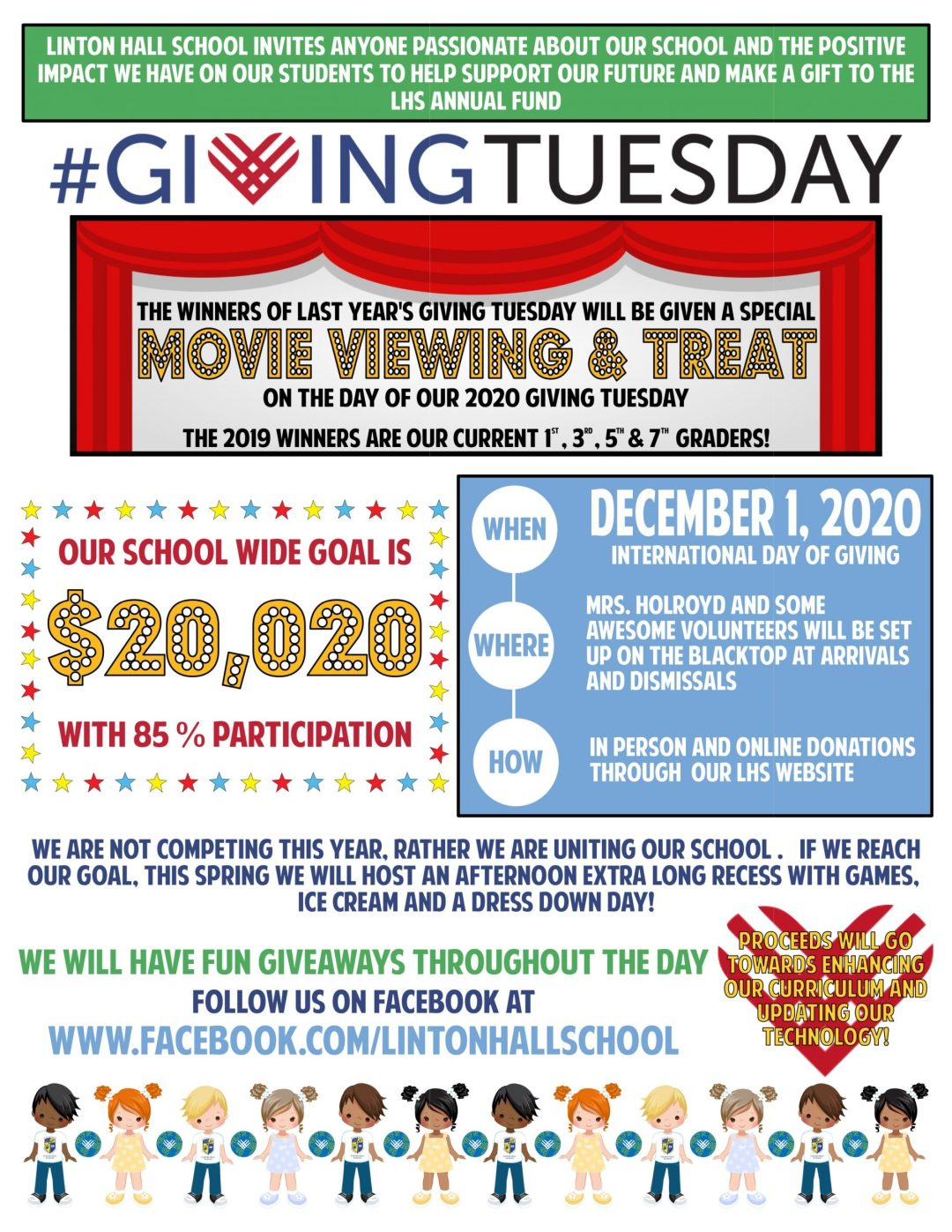 Giving Tuesday 2020 Flyer resized scaled - Giving Tuesday